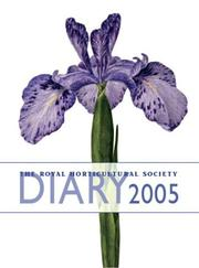 Cover of: The Royal Horticultural Society  Diary 2005 (Rhs Pocket Diary)