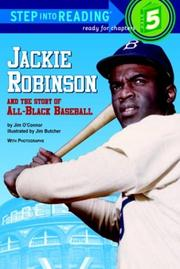 Cover of: Jackie Robinson and the story of all-Black baseball | Jim O'Connor