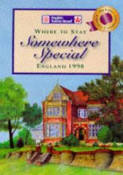 Cover of: Somewhere Special (Where to Stay) | English Tourist Board.