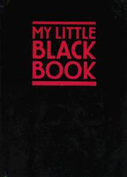 Cover of: My Little Black Book | Jarrold