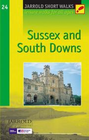 Cover of: Sussex and South Downs