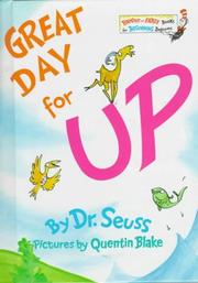 Cover of: Great day for up! | Dr. Seuss
