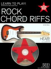 Cover of: Rock chord riffs