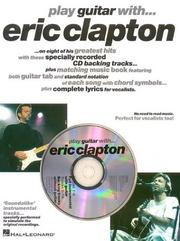 Cover of: Play Guitar with Eric Clapton (Music)