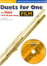 Cover of: Duets for One for Flute | Barrie Carson Turner
