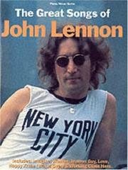 Cover of: The Great Songs of John Lennon