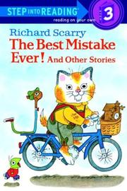 Cover of: The best mistake ever! and other stories