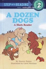 Cover of: A dozen dogs: a read-and-count story