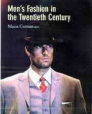 Cover of: Men's Fashion in the 20th Century