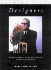 Cover of: Designers (Fashion Files)