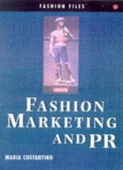 Cover of: Marketing and PR (Fashion Files)
