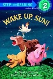 Cover of: Wake up, Sun! | David L. Harrison