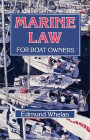 Cover of: Marine Law for Boat Owners