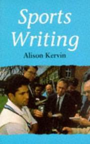 Cover of: Sports Writing (Books for Writers) | Alison Kervin