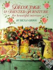 Cover of: Decoupage and Painted Furniture