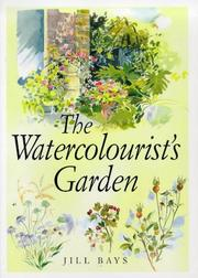 Cover of: The Watercolorist's Garden