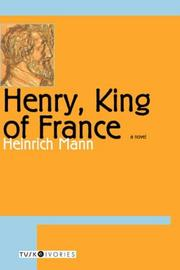 Cover of: Henry, King of France (Tusk Ivories)