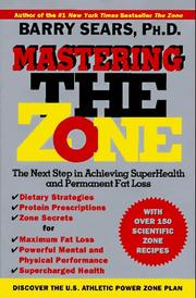 Cover of: Mastering the Zone
