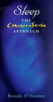 Cover of: Sleep (CommonSense Approach)