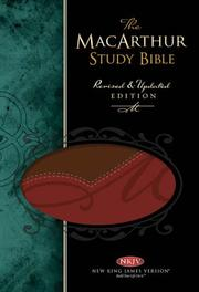 Cover of: The MacArthur Study Bible | John MacArthur