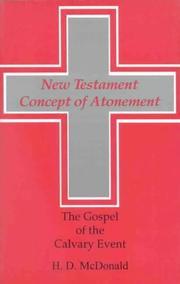 New Testament Concept of Atonement