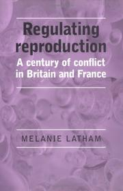 Cover of: Regulating Reproduction | Melanie Latham