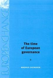 Cover of: The Time of European Governance