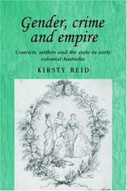 Cover of: Gender, Crime and Empire | Kristy Reid