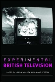 Cover of: Experimental British Television |