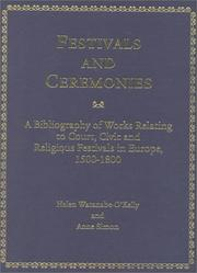 Cover of: Festivals and Ceremonies | Helen Watanabe-O