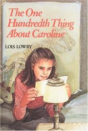 Cover of: The one hundredth thing about Caroline