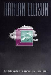 Cover of: Slippage | Harlan Ellison