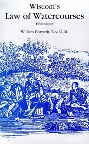 Cover of: Wisdom's Law of Watercourses