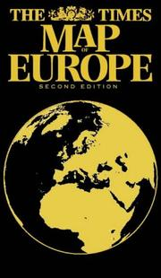Cover of: The Times Map of Europe (Times Books)