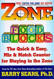 Cover of: Zone food blocks