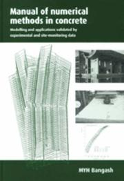 Cover of: Manual of Numerical Methods in Concrete