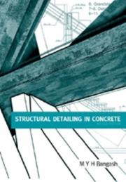 Cover of: Structural Detailing in Concrete