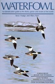 Cover of: Waterfowl | Steven Madge