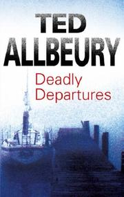 Cover of: Deadly Departures | Ted Allbeury