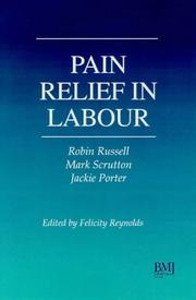 Cover of: Pain Relief in Labour |
