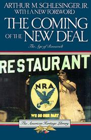 Cover of: The Coming of the New Deal | Arthur M. Schlesinger, Jr.