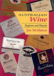 Cover of: Australian Wine