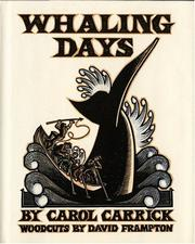 Cover of: Whaling days | Carol Carrick