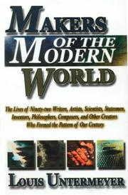 Cover of: Makers of the modern world