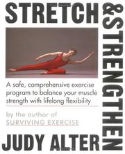 Cover of: Stretch and Strengthen | Judith B. Alter