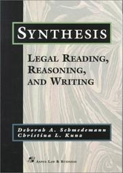 Cover of: Synthesis | Deborah A. Schmedemann