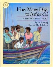Cover of: How Many Days to America?: A Thanksgiving Story