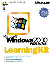 Cover of: Microsoft(r) Windows(r) 2000 Learning Kit | CRAIG ST LEARNIT CORPORATION