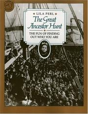 Cover of: The Great Ancestor Hunt | Lila Perl Yerkow