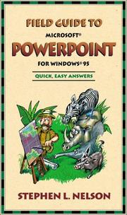 Cover of: Field Guide to Microsoft(r) PowerPoint(r) for Windows(r) 95
